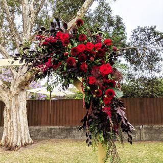 Blue Mountains Wedding Flowers Ceremony