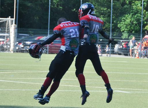 Pirates weiter auf Kurs Bezirksliga