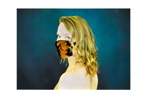 masque plume II