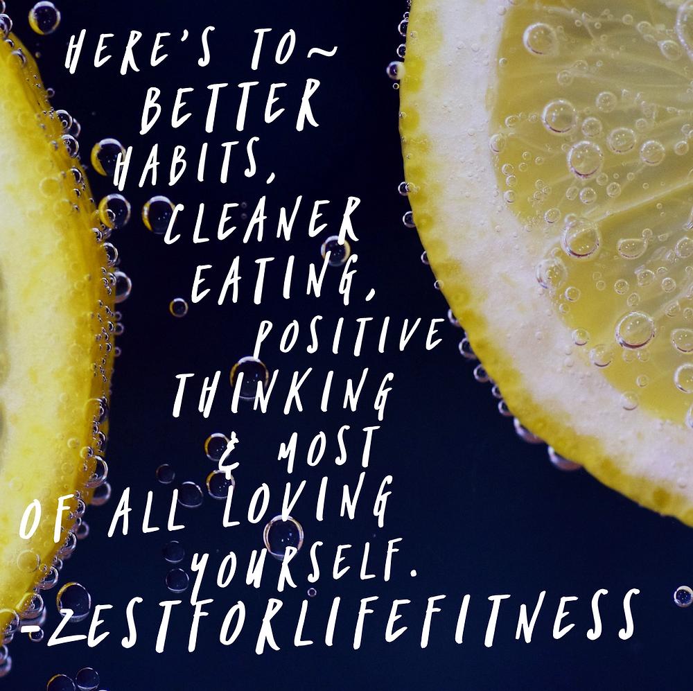 Zestforlifefitness New Year Motivation