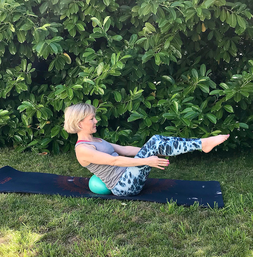Lower back pain Pilates Strength support
