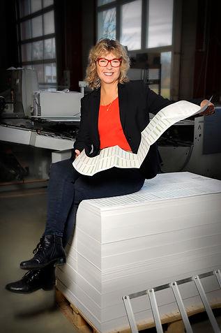 Geschäftsführerin Heike Lange