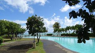 Villa in a beachfront complex for rent in caolodyne mauritius villa dans un complexe pieds dans l'eau a louer calodyne ile maurice