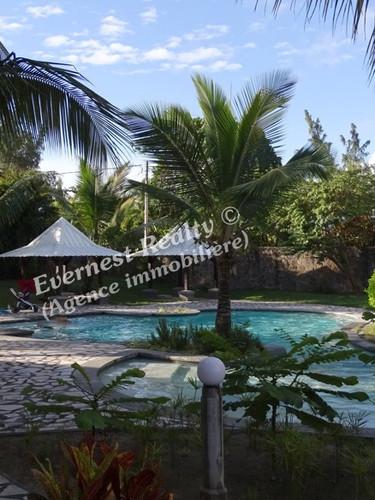 Pool/Garden -Real Estate Agency Mauritius