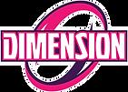Logo Dimension Cheerleading Saguenay Chicoutimi Cheer Cours Équipes Tumbling Gym Compétition Enfants Camps d'été
