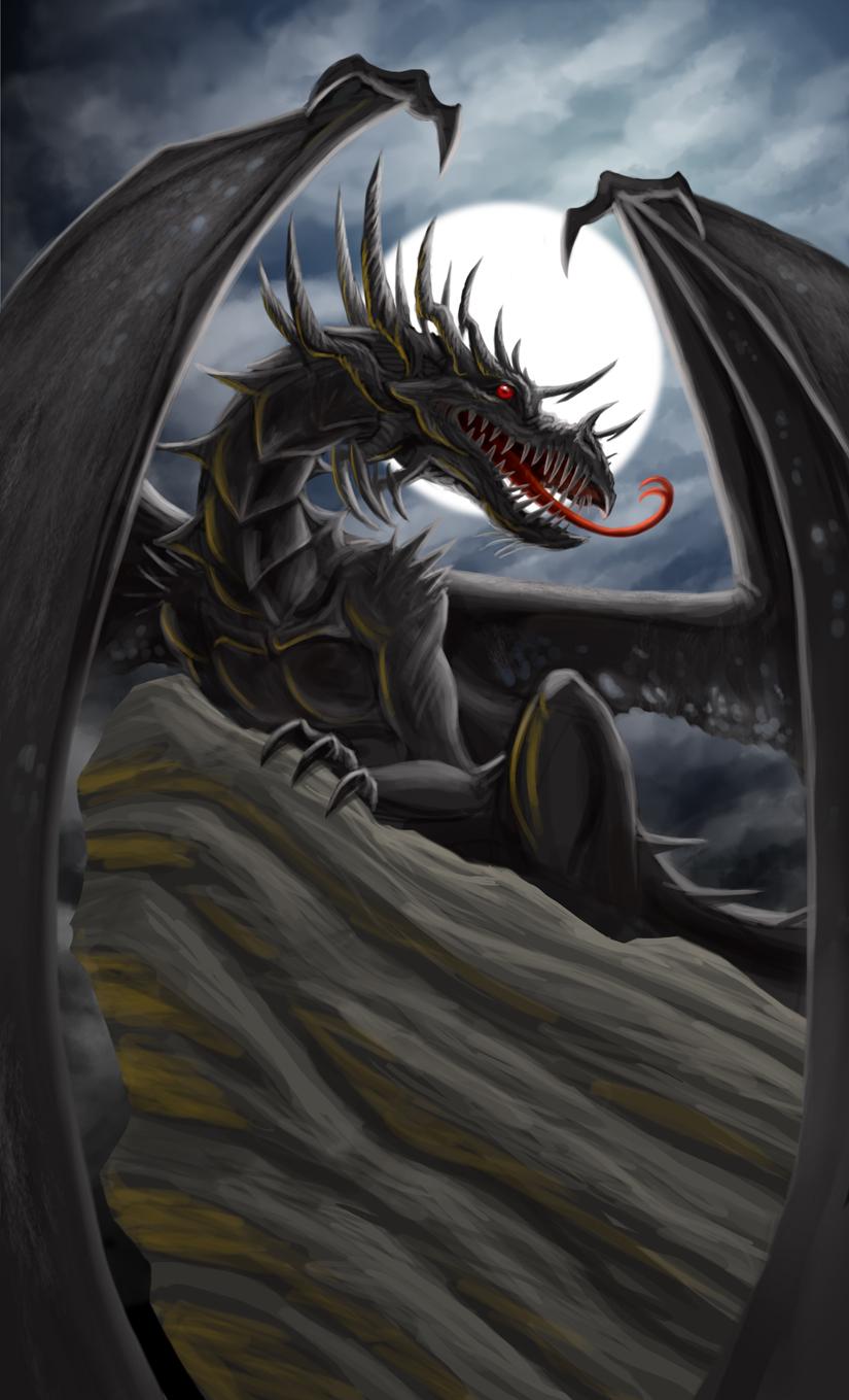 Dragon-vampire