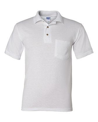 Polo à manches courtes avec poche - Homme