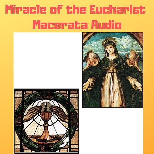 Miracle of the Eucharist of Macerata Audiobook