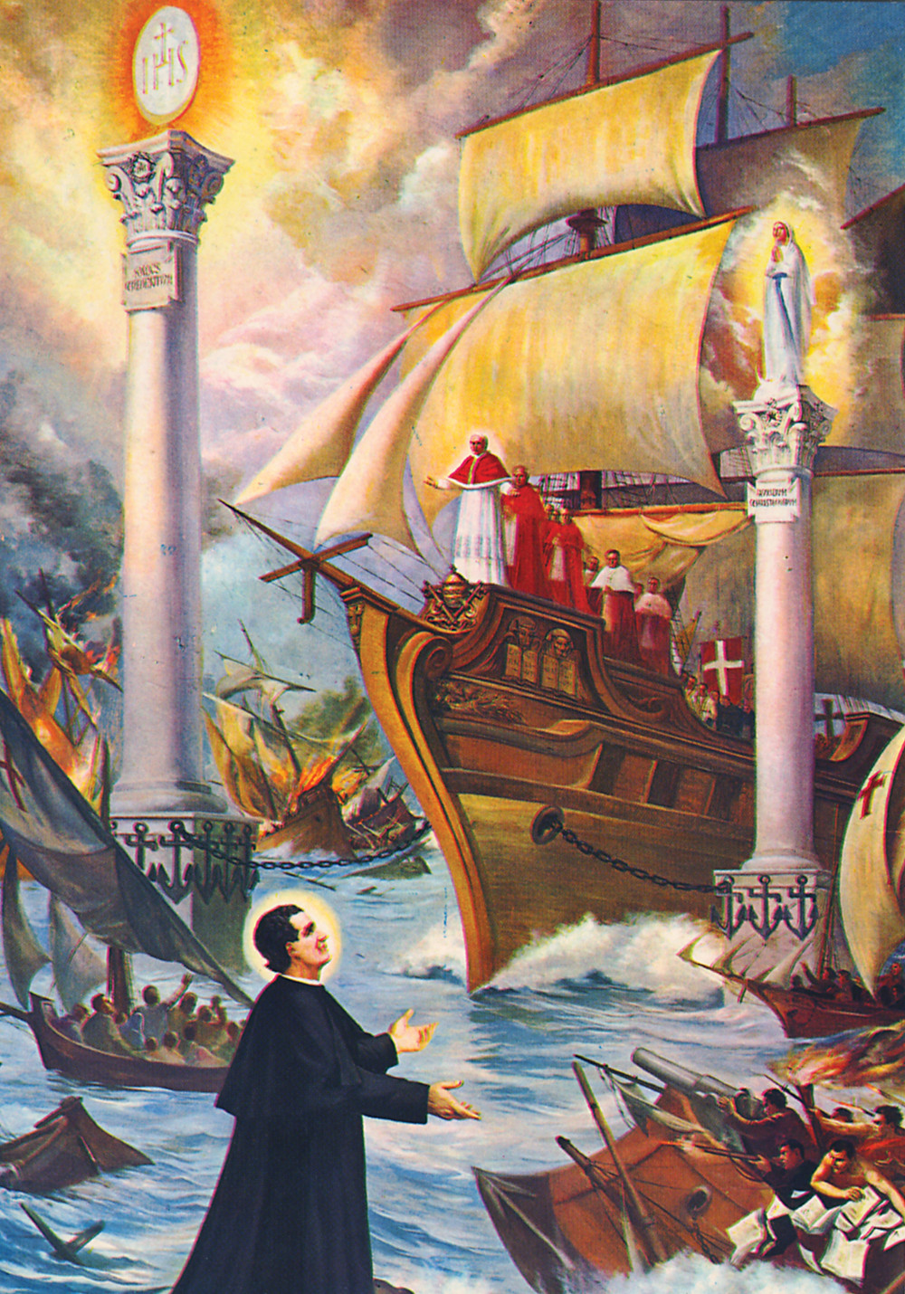 The Famous Dream of Saint John Bosco