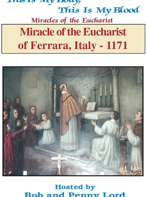 Miracle of the Eucharist of Ferrara DVD