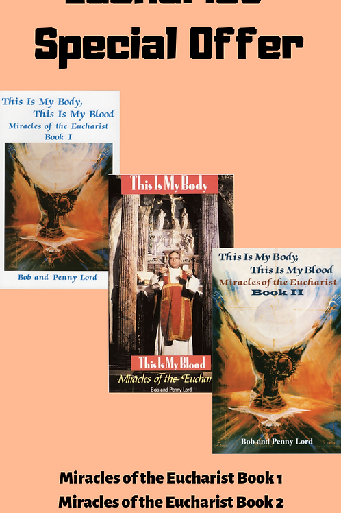 Miracles  of the Eucharist books and dvd combo