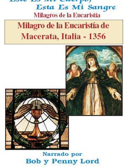 Milagro de la Eucaristía de Macerata, Italia - 1356