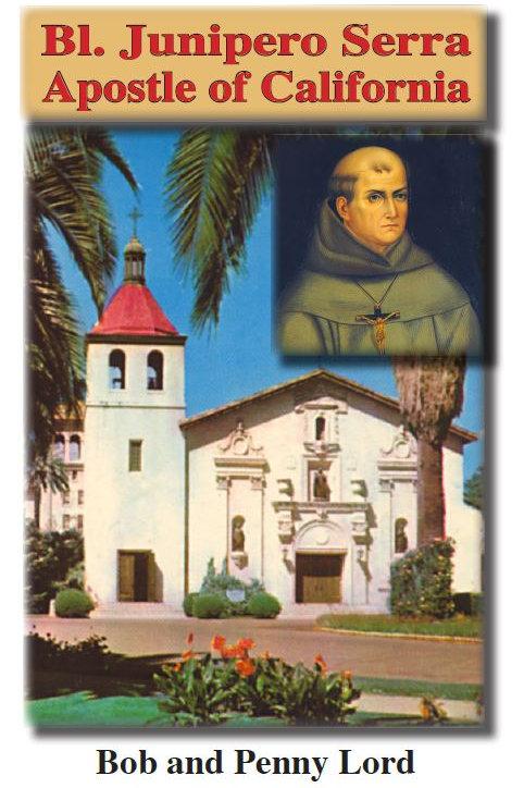 Saint Junipero Serra minibook