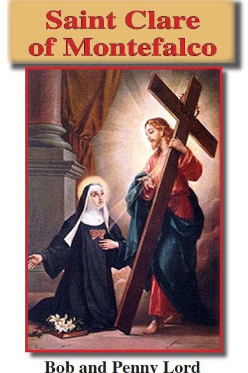 Saint Clare of Montefalco minibook