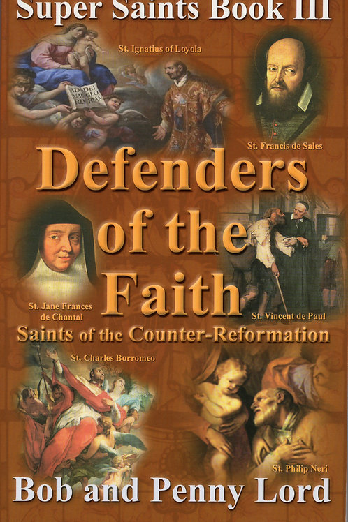 Defenders of the Faith - Super Saints Trilogy Book III