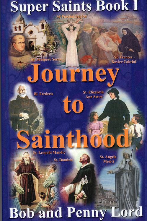 Journey to Sainthood  -  Super Saints Trilogy Book 1