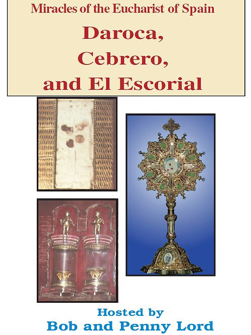 Miracles of the Eucharist of Spain DVD