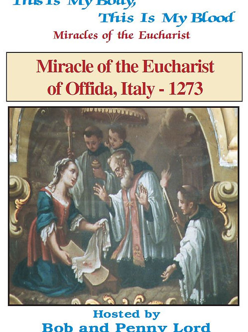 Miracle of the Eucharist of Offida DVD