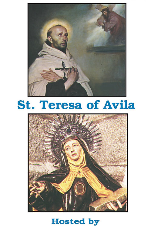 Saints John of the Cross and Teresa of Avila DVD