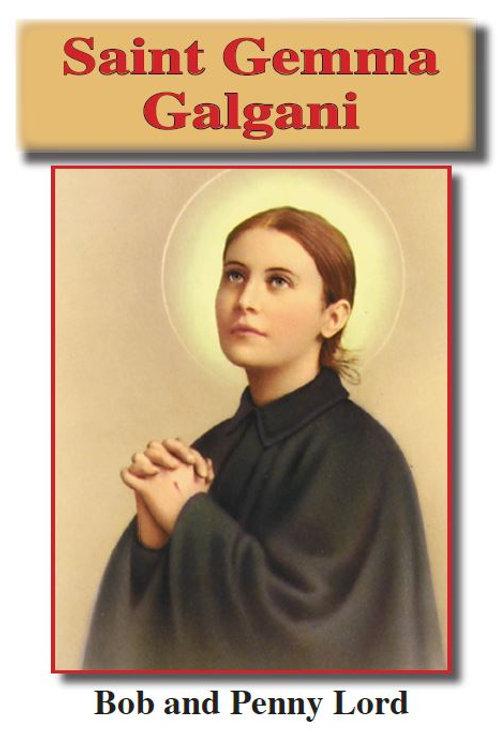 Saint Gemma Galgani minibook