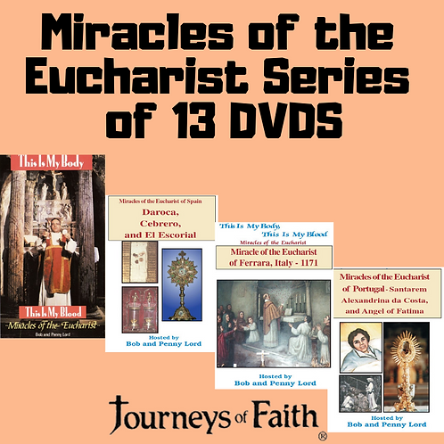 Miracles of the Eucharist Set of 13 DVDS