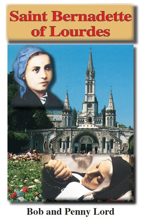 Saint Bernadette of Lourdes minibook