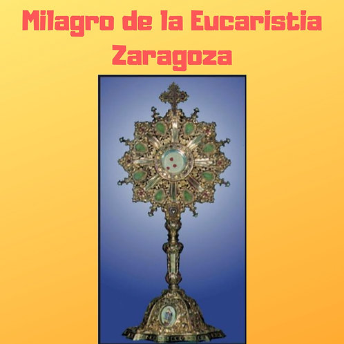 Milagro de la Eucaristia Zaragoza Audiobook