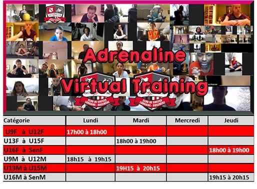 Entraînement Virtuel/Virtual Training