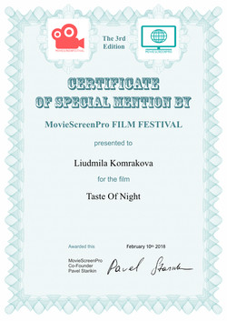 Special Mention 1 Certificate_MSCPFF