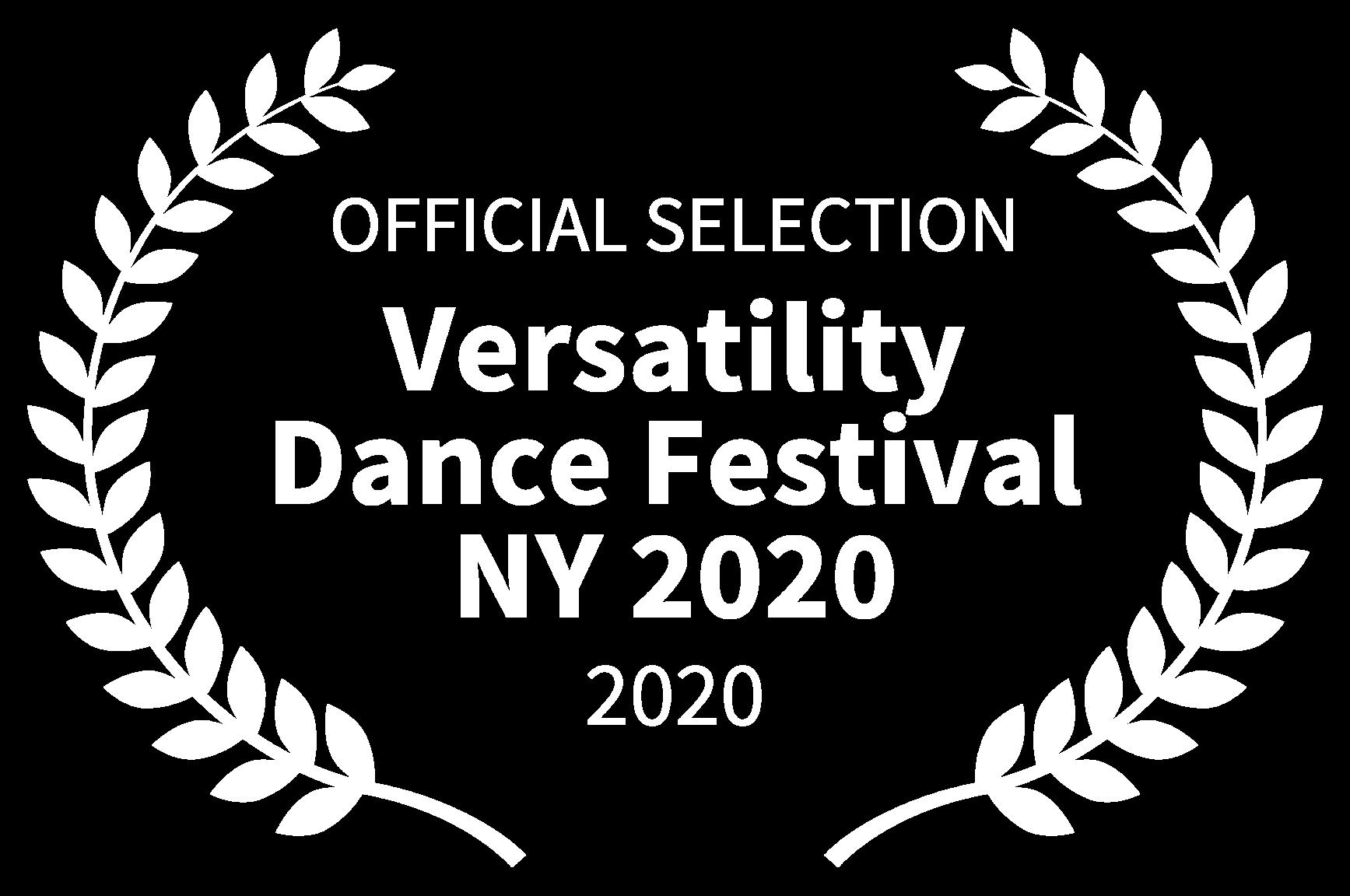 OFFICIAL SELECTION - Versatility Dance F