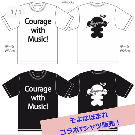 コラボTシャツ完成!