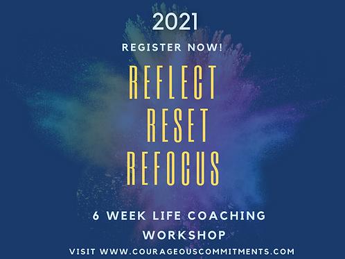 Reflect, Reset, Refocus! Virtual Coaching Workshop