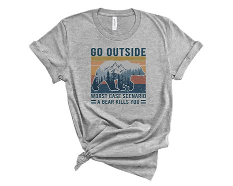 The Worst Case Scenario t-shirt