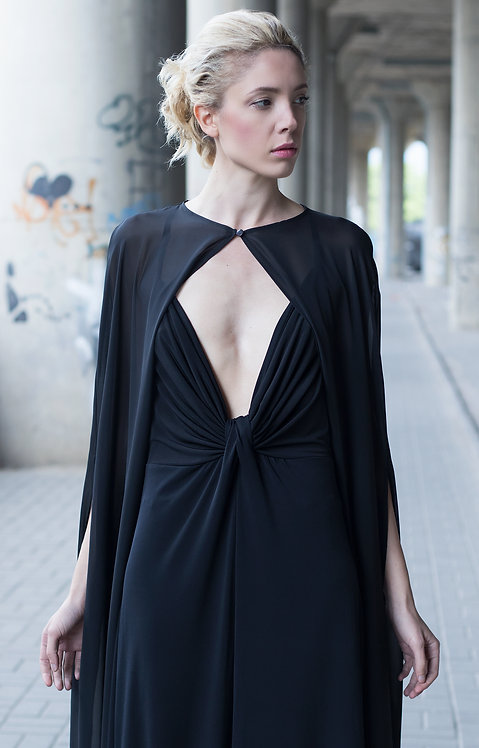 The Diva Cape Dress