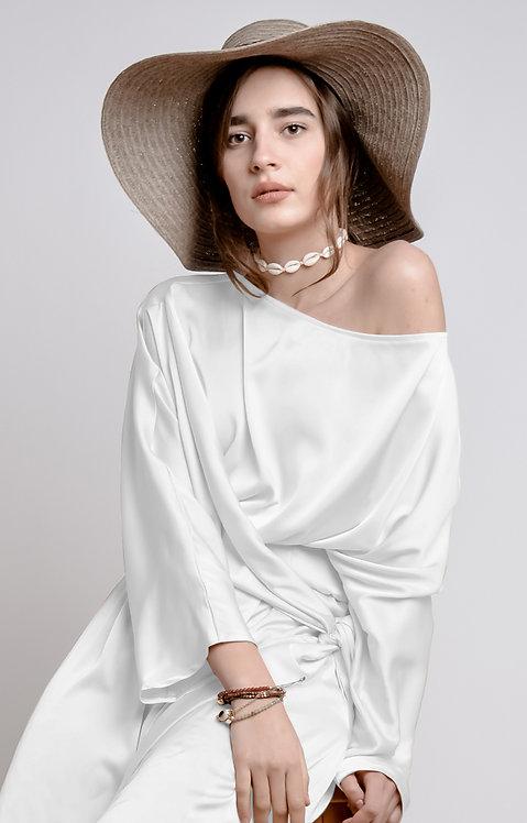 The Bridal Midi Dress