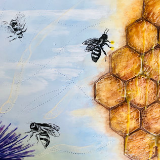 Bees-works   SOLD