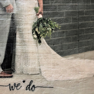 Wedded Bliss     SOLD