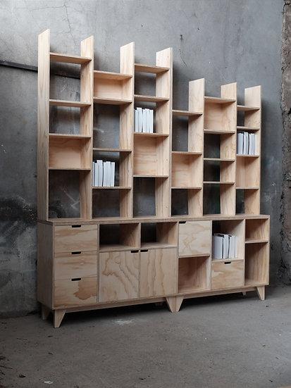 Estante Biblioteca Alvaro