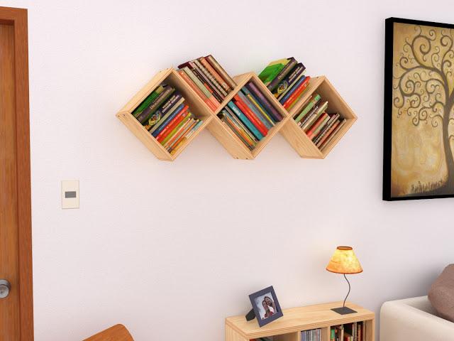 """Librero """"Ico"""""""