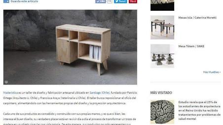 Maderística en Plataforma Arquitectura