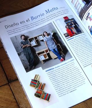 Maderística en Revista Paula