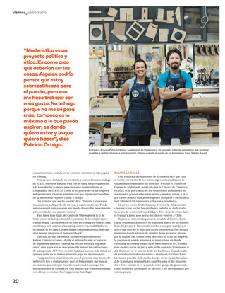 Maderística en Revista Viernes