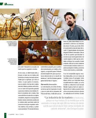 """Maderística en """"Lignum"""", revista del sector forestal"""