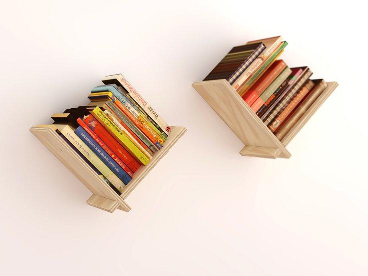 Libreros Pajarísticos (par)