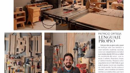"""Como """"Arquitecto Carpintero"""" en Revista VD"""