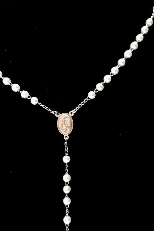 Rosario con perle