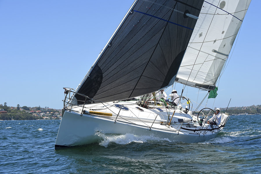 Sailing yacht race. Yachting. Sailing.jp