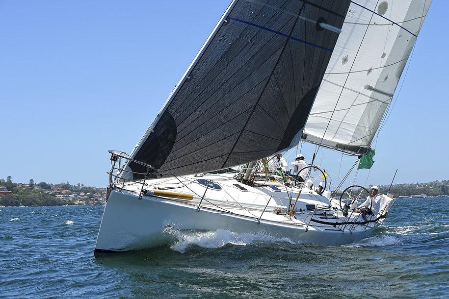 Sailing yacht race. Yachting. Sailing.jp