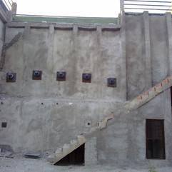 Estabilización muro de ladrillo
