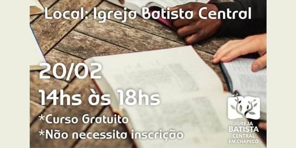 Cancelado/Treinamento do Estudo Bíblico Evangelístico Cronológico